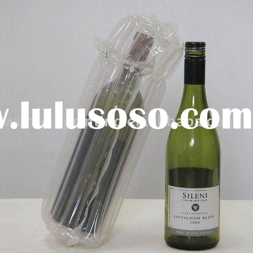 PE air bag for wine bottle