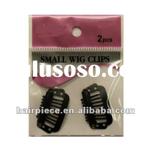 Plastic wig clips in bulk for wigs, toupee clips, wig comb clips