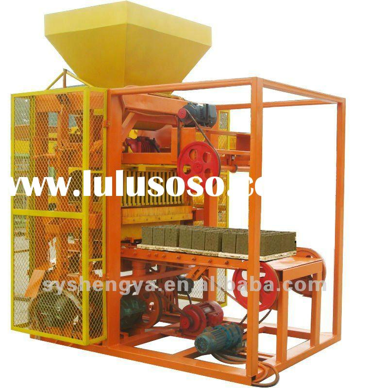 QTJ4-26 semi-automatic used brick making machine for sale
