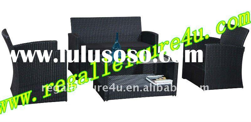 RLF-001S-1H promotion style outdoor rattan sofa set patio garden wicker furniture set