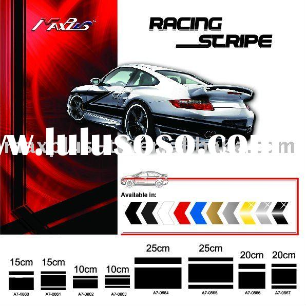 Car Stripe Sticker Malaysia Racing Stripe Car Body Sticker