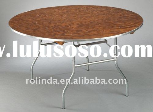 Round Folding Banquet Dining Table