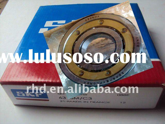 SKF Ball Bearing/brass cage ball bearing 6204MA.C3