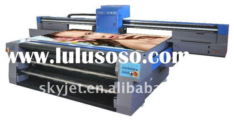 Skyjet UV Flatbed Printer with Roll to Roll