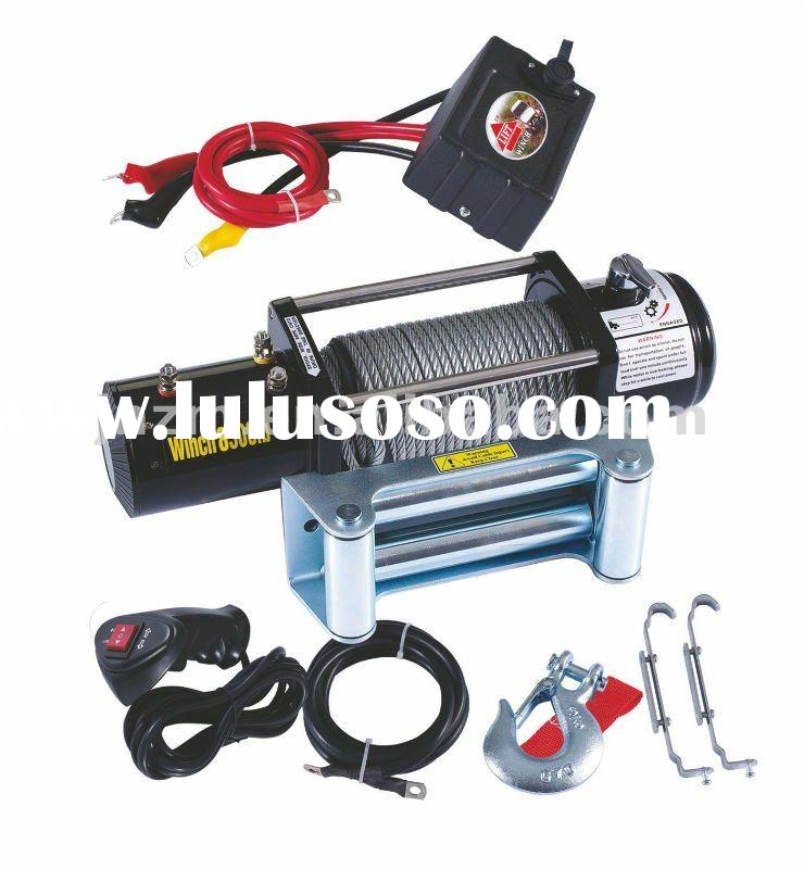 Small car electric winch