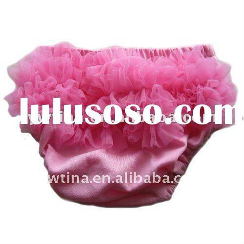 So lovely dark pink lace petti bloomers/diaper cover/ruffle bloomers/pants ...