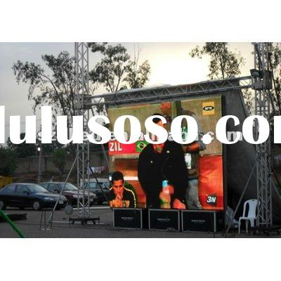 Stage concert waterproof P16 outdoor SMD/DIP full color advertising rental led display