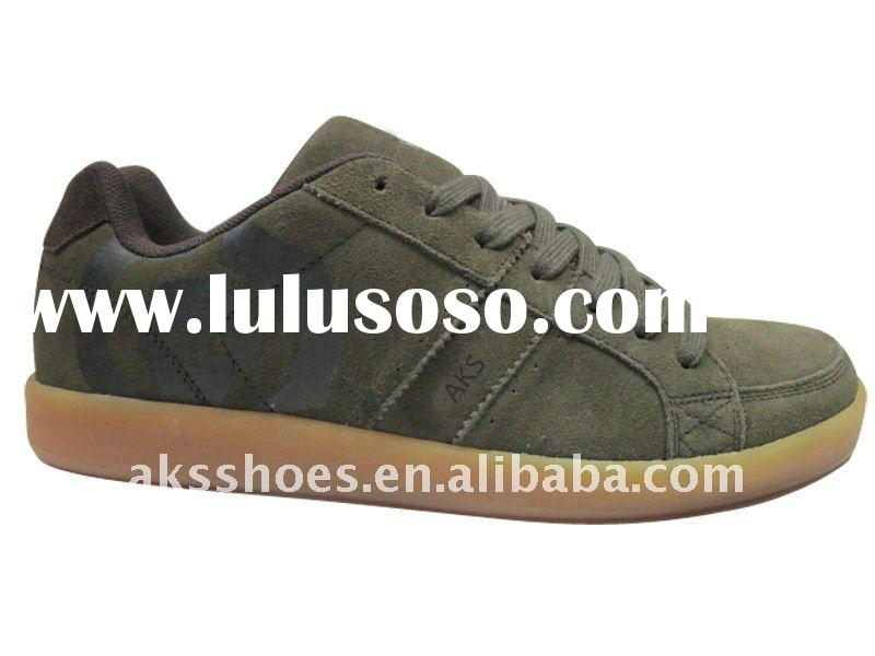Suede casual shoes for handsome men