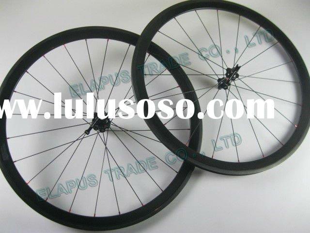 Supper Light 700c Carbon road wheels(38mm clincher wheelset)