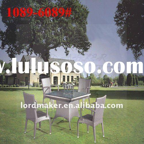 Synthetic furniture outdoor rattan of royal garden patio furniture Luxury Plastic Rattan Furniture (