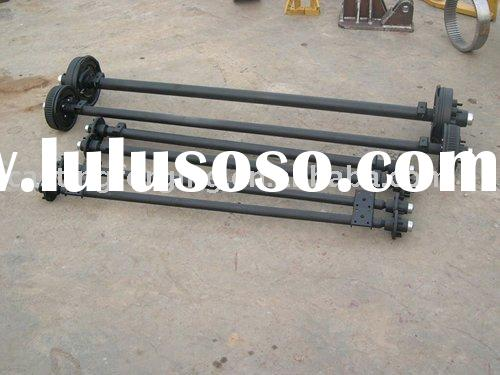 Trailer axle for North American market