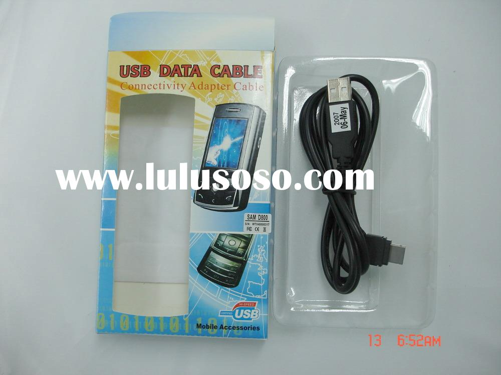 USB data cable for Samsung D800,Z540,M600 etc.(model#PG-DC-U-SAM D800)