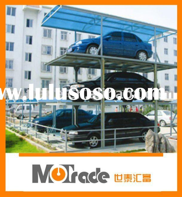 Underground 4 Post Hydraulic Auto Car Parking Lift 3 Floor ( CE )
