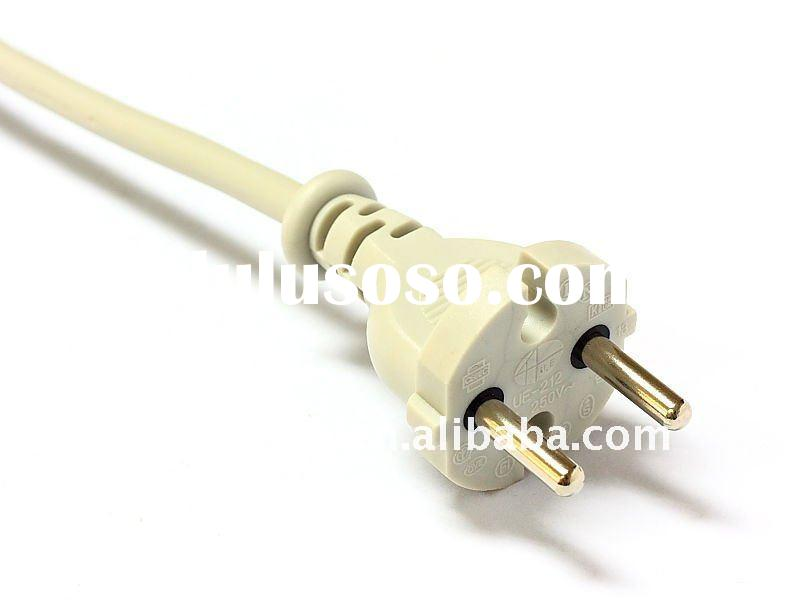 VDE AC power cord with EU electric plug