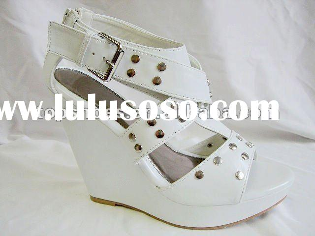 Wedge sandals, low price ladies sandals