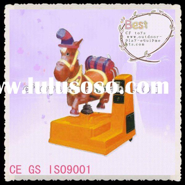Wonderful toy horse on wheels for kids