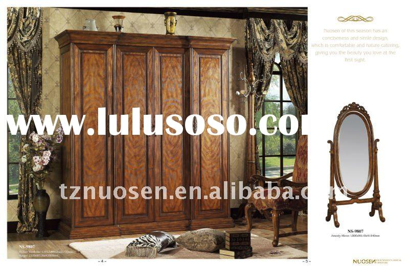 Wood living room furniture set NS-9807
