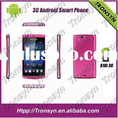 X18i Dual sim 3g android smart phone dual Camera