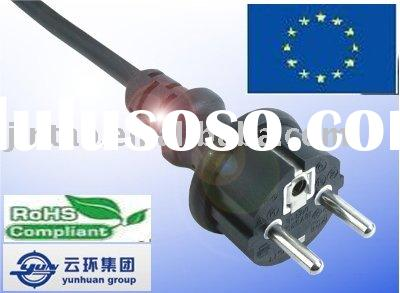 (A1) Eourpean VDE AC Power Cords With Plug Water Proof.VDE Extension Cords With Plug.Power Cable Cor