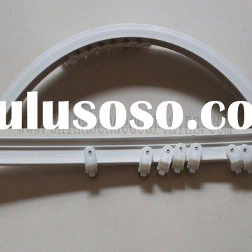 chandelier trail track, beaded curtain rod, PVC curtain rod