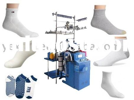 circular jacquard terry socks knitting machine,socks machine