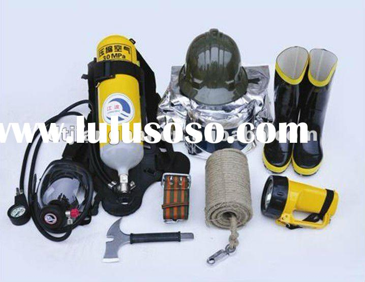 fire-fighter's outfiits and safety device equipment