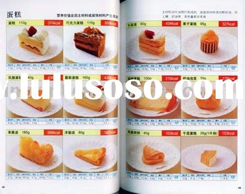 food menu(printed catalogue for foods,catalogue book)