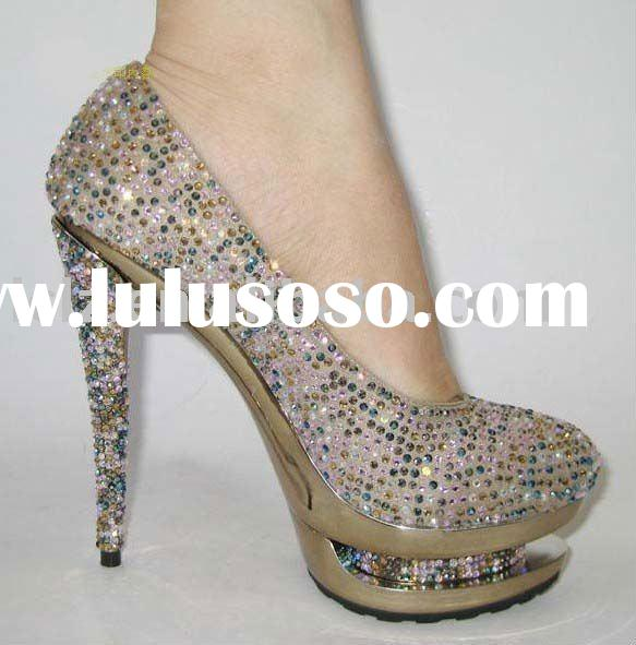 g105 crystal lady pump shoes club shoes