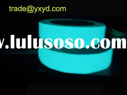 glow in the dark sticker,light film,adhesive luminous paper