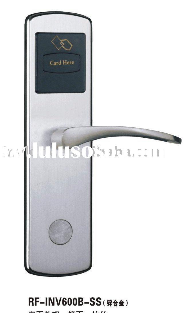 hotel smart card lock/hotel lock/RF lock/electric lock