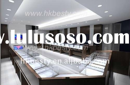 jewelry display showcase,display counter,jewelry store design