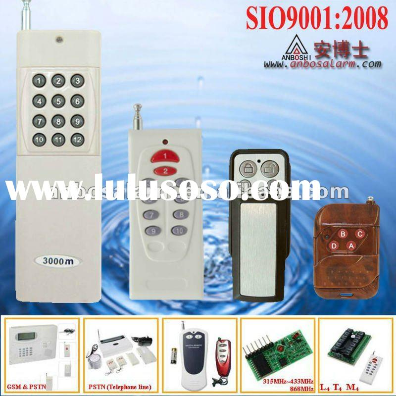long distance Wireless Remote Control Switch with Wireless receiver 315MHz 433MHz 868MHz Metal/Plast