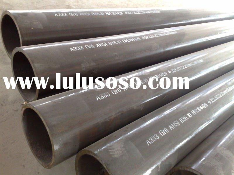 low carbon seamless steel pipe, astm a333