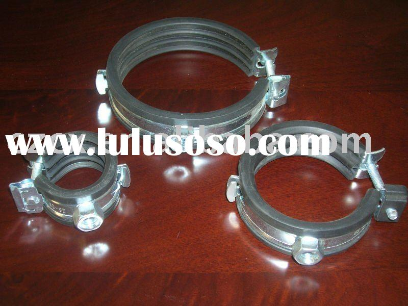 metal pipe hangers clamps