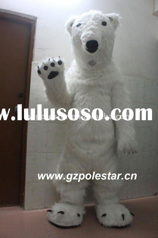 polar bear mascot costume NO.1798