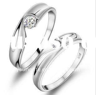 rings jewellery silver925 jewelry ring settings without stones rings jewellery couple rings Lovers&a