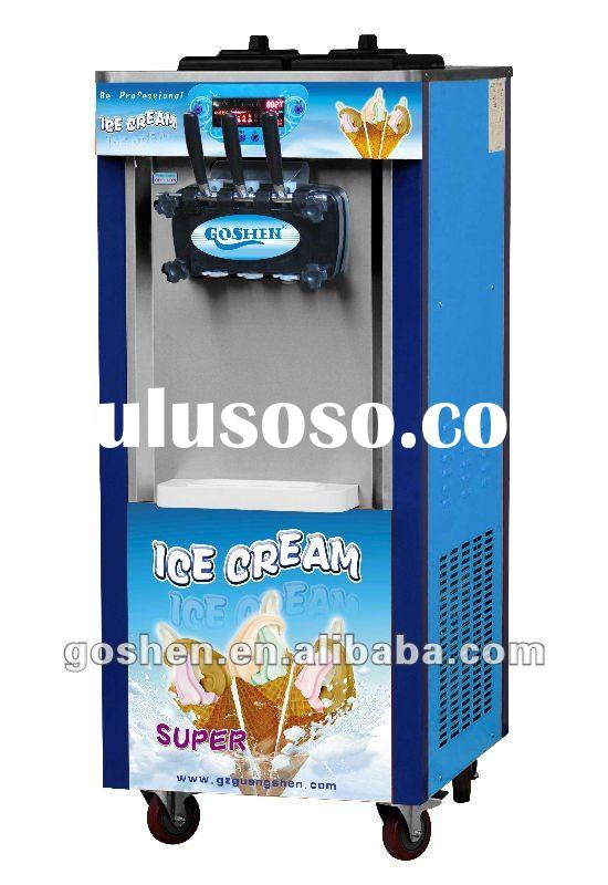 soft ice cream machine manufacturer with pre-cooling system