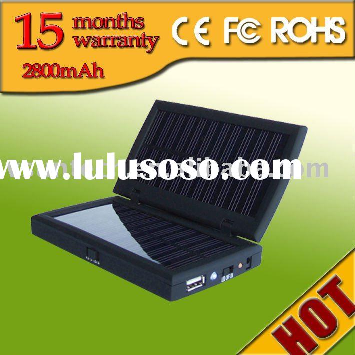 solar charger iphone battery with 2800mAh CE FC ROHS
