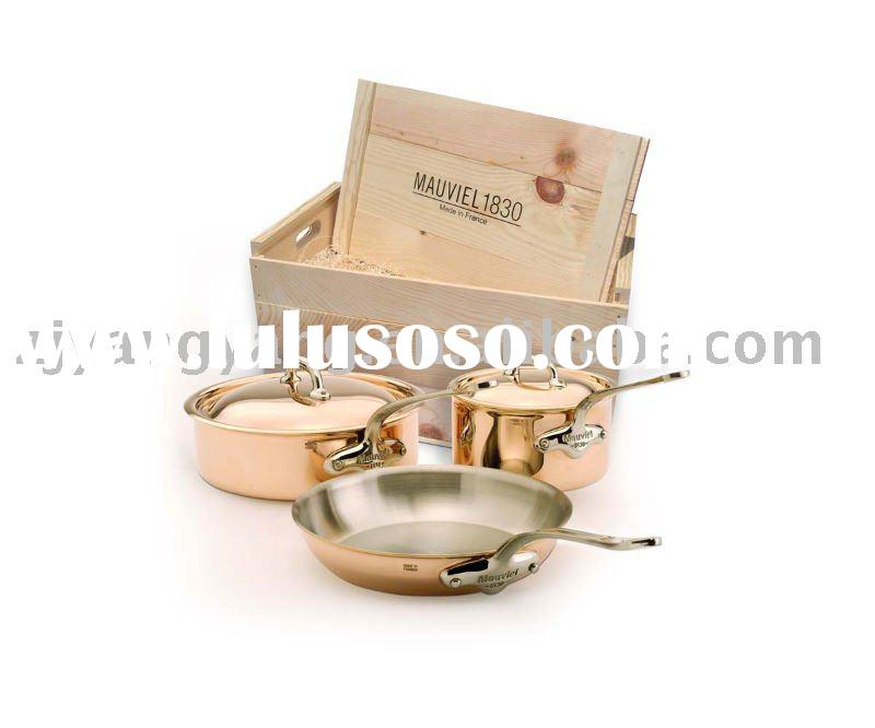 stainless steel cooking pot and pan cookware set