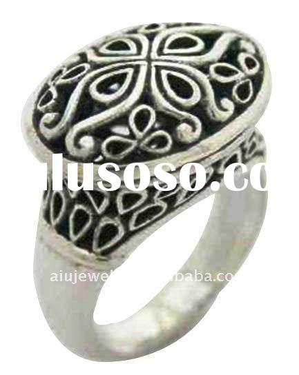 sterling silver ring settings without stones