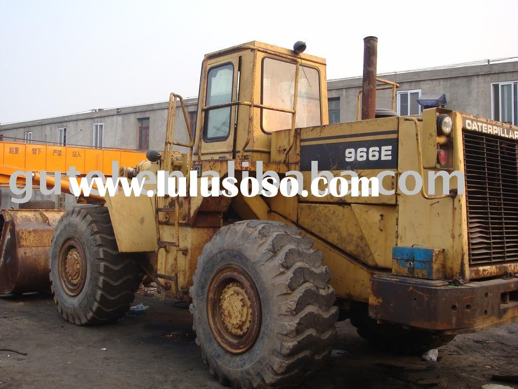 used wheel loader Caterpillar 966E Cat 966E wheel loader