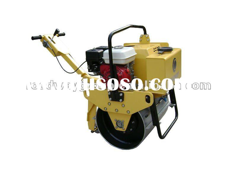 walk behind single drum mini road roller