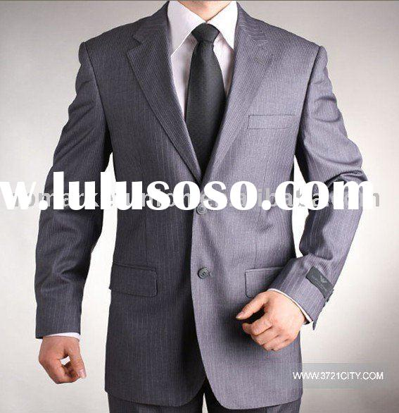 100%polyester lining suit for men