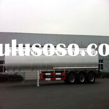2011 Export to Philippines -- 40000L (Traperzoid) Carbon-steel fuel tank semi trailer series (Rear 3