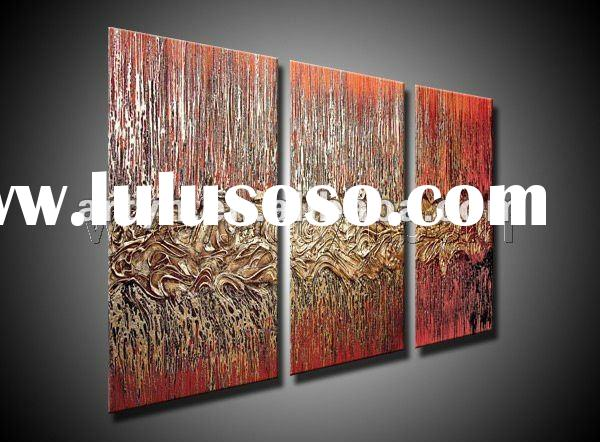 2011 new style abstract acrylic canvas painting