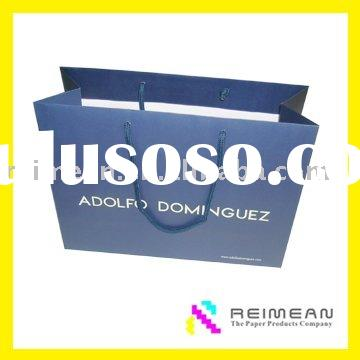 2011 shopping luxury paper bag for clothes in high quality