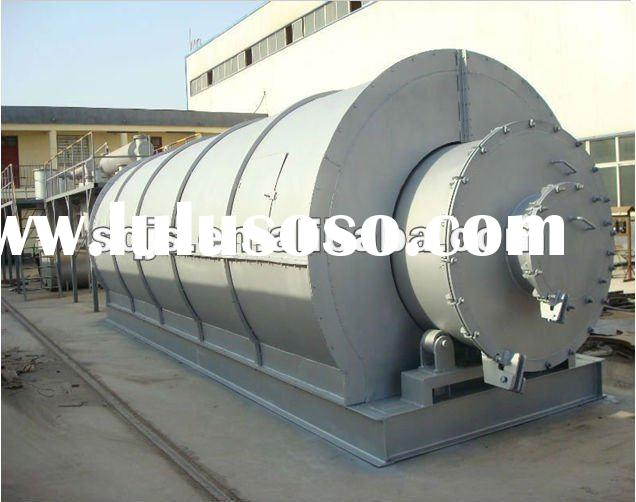 2012 HOT-SALE Used scrap rubber to crude oil recycling machine