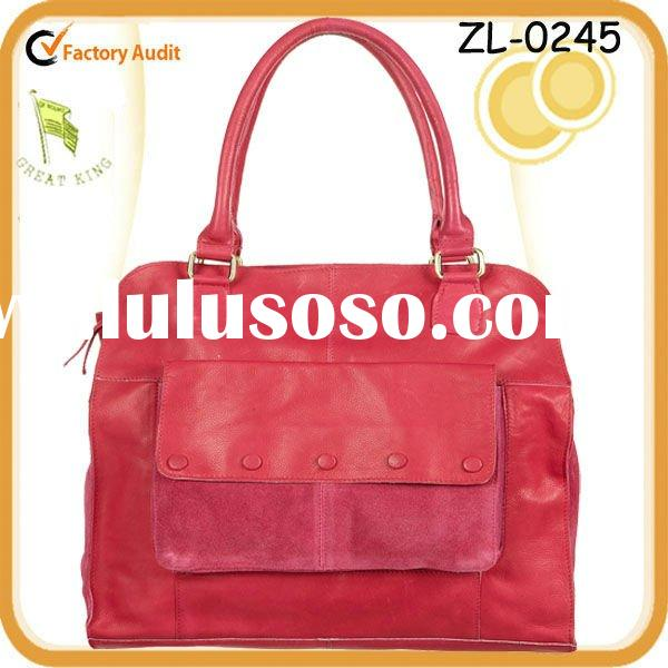 2012 LEATHER TOTE BAG Guangzhou Bag Factory