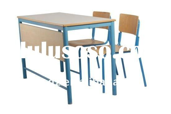 2012 Popular Cheap School Children desk and chair/School Furniture/Nice Kids desk
