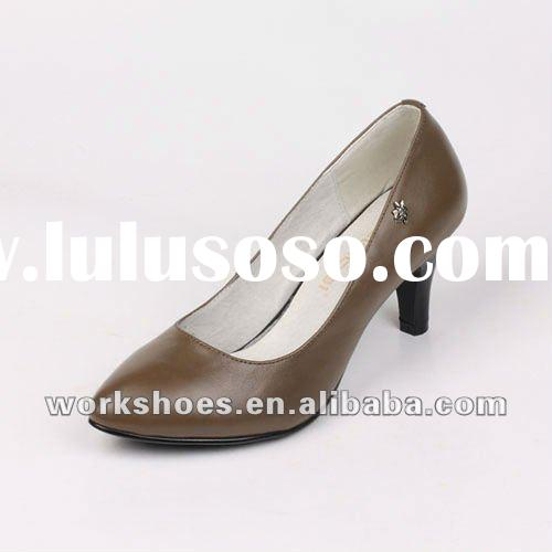 2012 Summer New Arrival Ladies Shoes With Genuine Leather